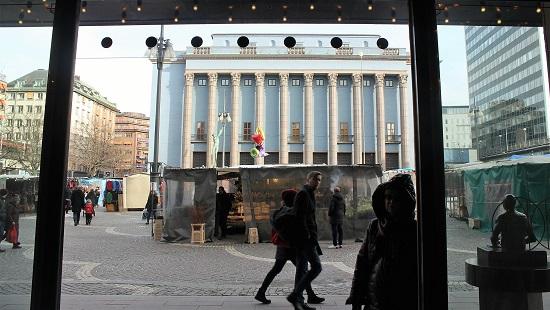 Konserthuset sett från Hotel Haymarket. Foto: Ingemar Lindmark.